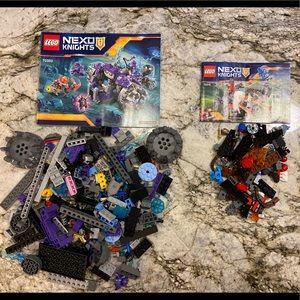 Lego Nexo Knight Three Brothers & Glob Lobber Sets